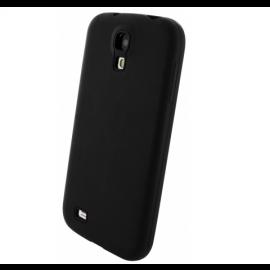 Mobiparts Siliconen Case Galaxy S4 zwart