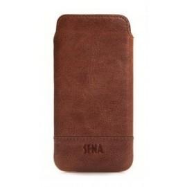 Sena UltraSlim Pouch leer iPhone 6 bruin (cognac)