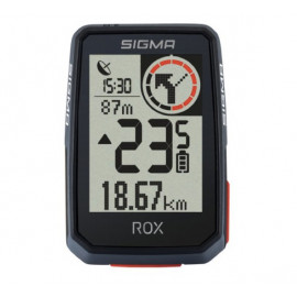 Sigma ROX 2.0 GPS fietscomputer zwart + stuurhouder