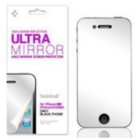 Spigen Steinheil Ultra Mirror voor ZWARTE iPhone 4(S)