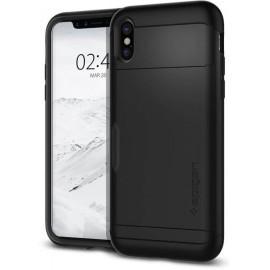 Spigen Slim Armor CS Case iPhone X zwart
