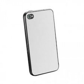 Spigen Skin Guard Leather iPhone 4(S) wit