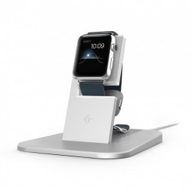 Twelve South HiRise Apple Watch zilver