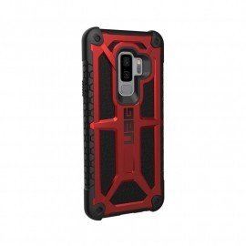 UAG Hard Case Galaxy S9 Plus Monarch rood / zwart