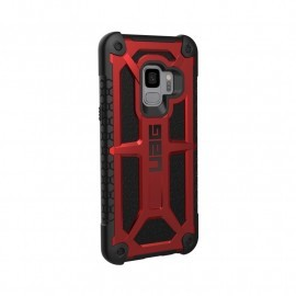 UAG Hard Case Galaxy S9  Monarch rood / zwart