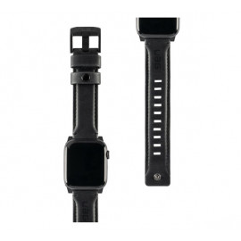 UAG Leather Watch strap 44 / 42 mm zwart