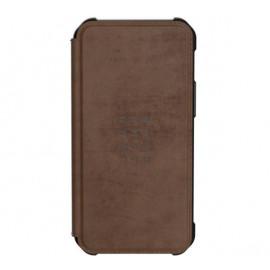 UAG Metropolis Leather Hard Case iPhone 12 Mini bruin