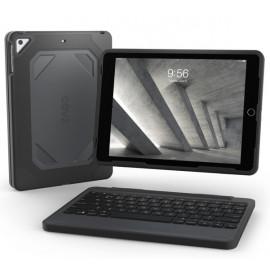 ZAGG Rugged Bluetooth Keyboard Case AZERTY iPad Air 1 / 2 / Pro 9.7 zwart